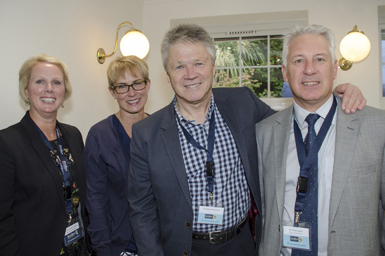 Lisa Findel-Hawkins, Steve and Kim Perryman, Chris Fayre's (Eagle One Developments)