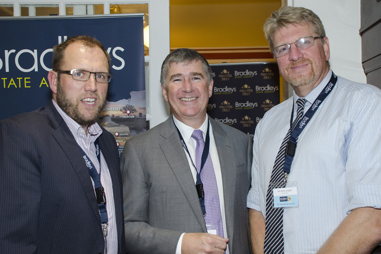 Simon Dunstan (SW Comms), Lyndon Bent, Harry Langley (SW Comms)