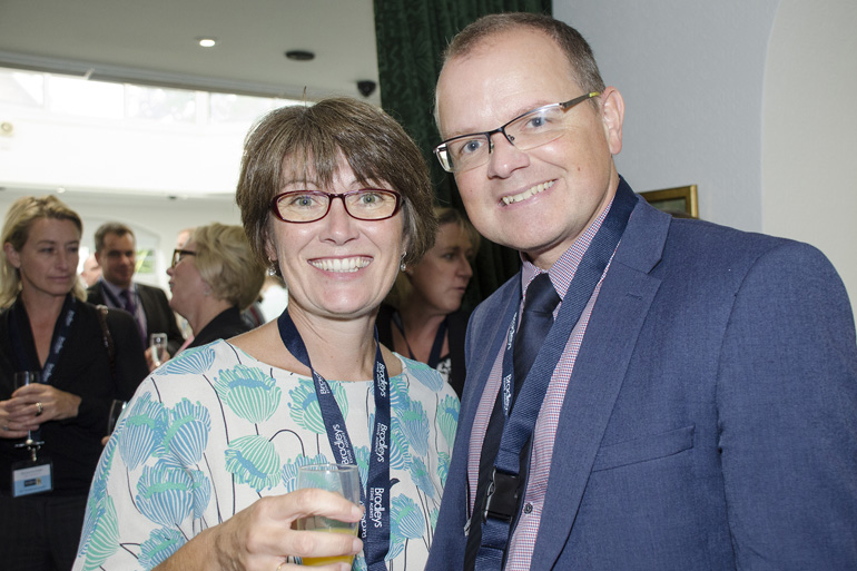 Sarah Daniels (FORCE Cancer Charity), Robin Middleton