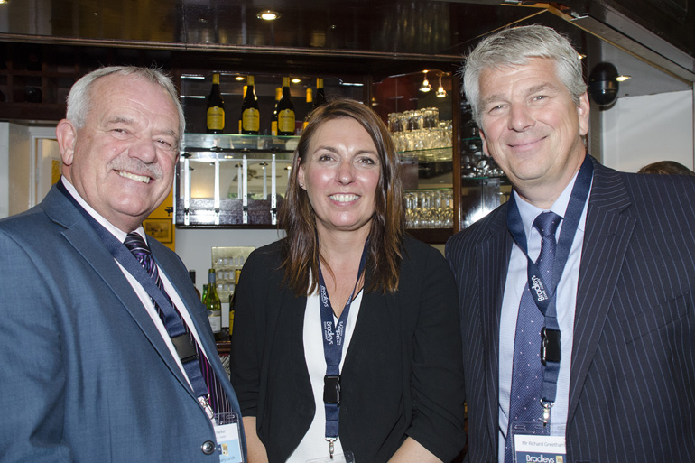 Jim Parker & Michelle Pugh (Trinity Mirror), Richard Greetham.