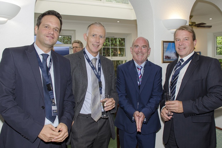 Kevin James, Richard Nicol (Summerfield Developments), Chris Baxter, Chris Winter (Summerfield Developments)