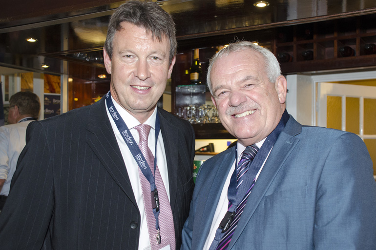 Mike Dibble and Jim Parker (Trinity Mirror)